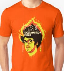 Fire Exclamation Mark Unisex T-Shirt