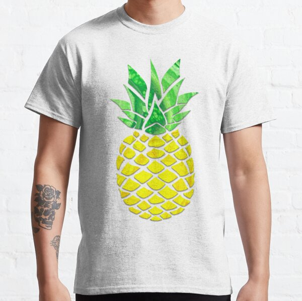 Pineapple Acrylic Pour Classic T-Shirt