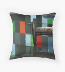 casa confetti reflected Throw Pillow