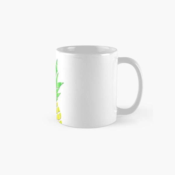 Pineapple Acrylic Pour Classic Mug