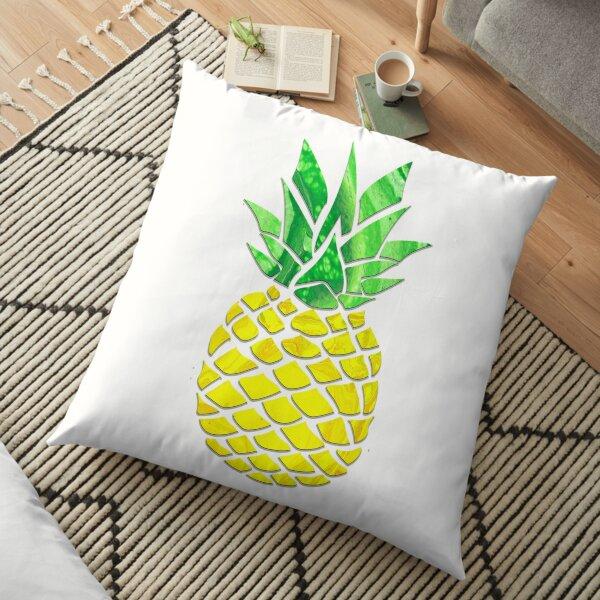 Pineapple Acrylic Pour Floor Pillow