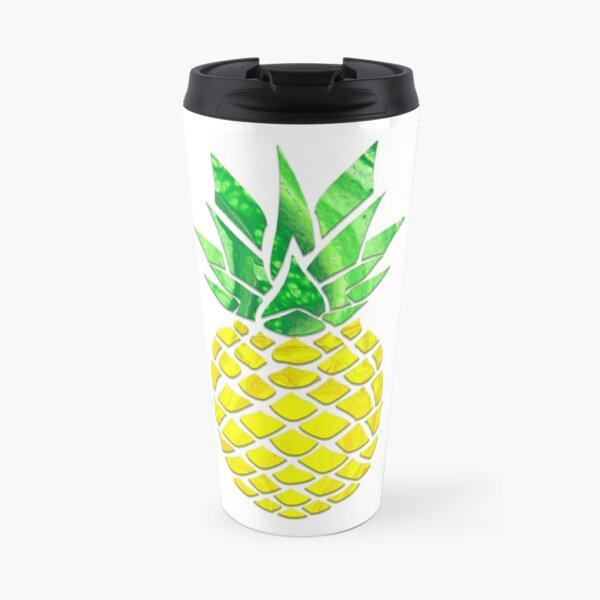 Pineapple Acrylic Pour Travel Mug