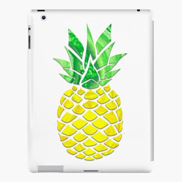 Pineapple Acrylic Pour iPad Snap Case