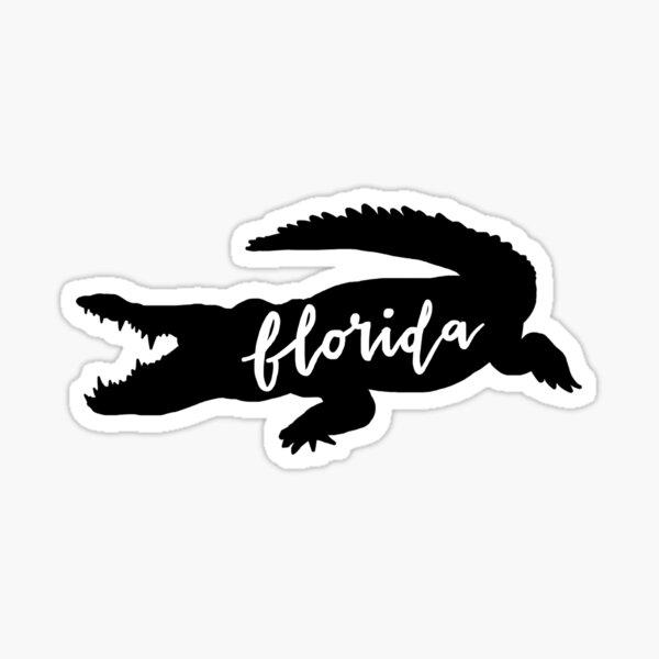 florida alligator sticker Sticker