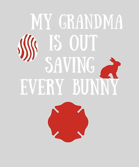 My grandma is a firefighter easter gift great present for my grandma is a firefighter easter gift great present for firefighter easter basket by nicoledesign negle Image collections