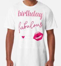 Fabulous Birthday Girl 21. Geburtstag pink Kiss Longshirt