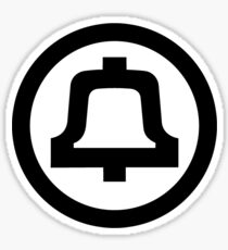 Bell Telephone Logo Sticker