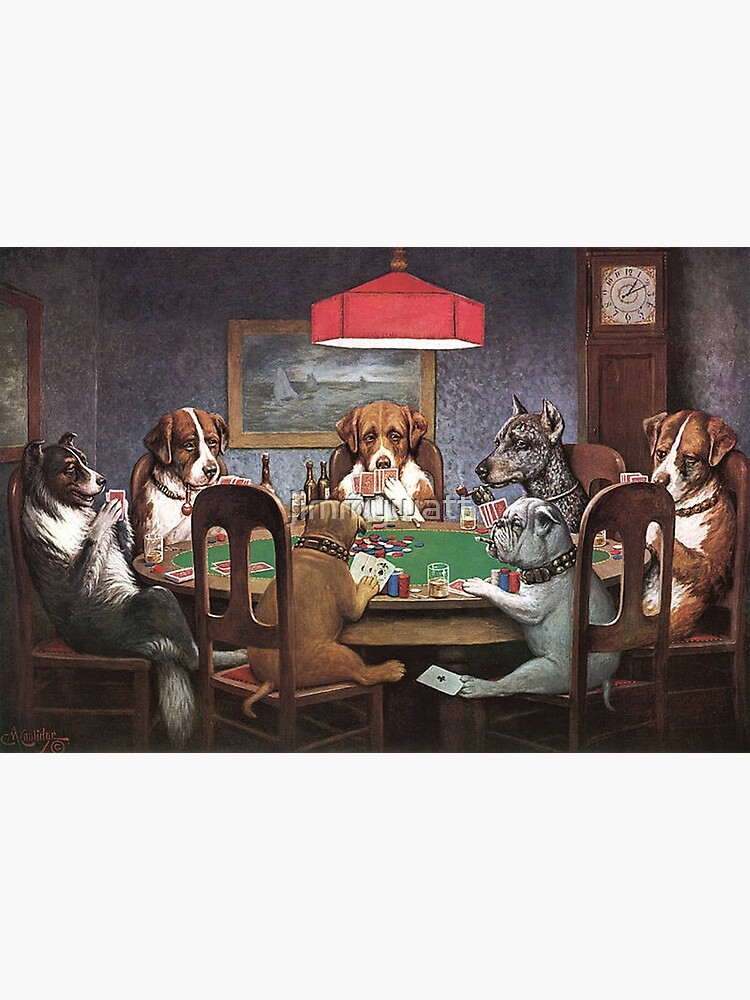 Dogs Playing Poker by jimmywatt
