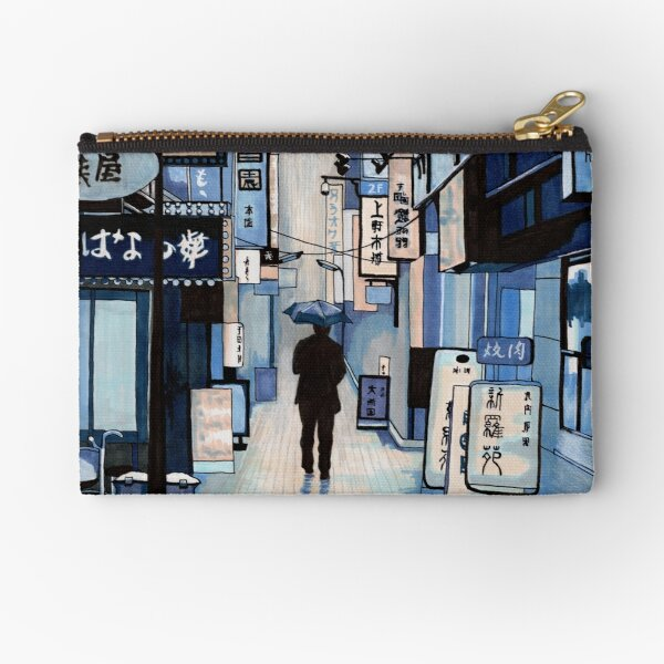Rainy Day Zipper Pouch