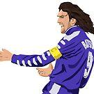 Gabriel Batistuta - Fiorentina Captain by SerieAFFC