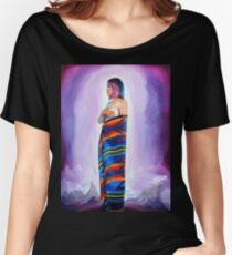 Purple Planets, Connection Women's Relaxed Fit T-Shirt