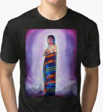 Purple Planets, Connection Tri-blend T-Shirt