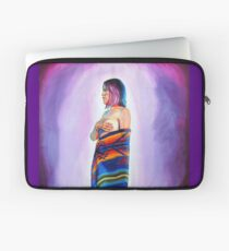 Purple Planets, Connection Laptop Sleeve