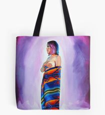 Purple Planets, Connection Tote Bag
