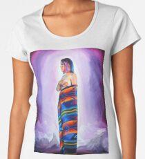 Purple Planets, Connection Women's Premium T-Shirt