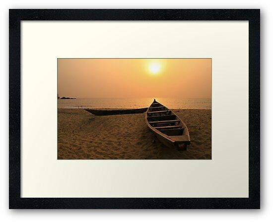 Kribi Sunset by CCManders
