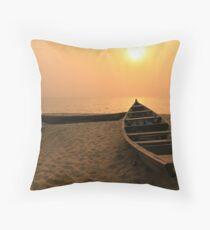 Kribi Sunset Throw Pillow