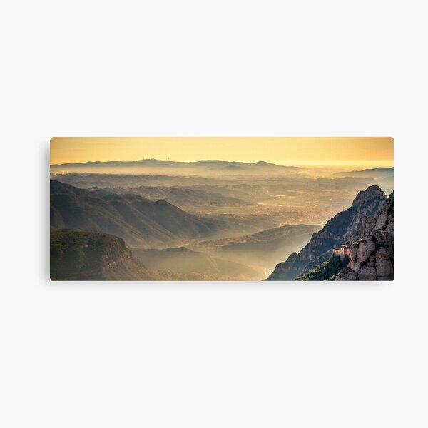 Montserrat morning glow Canvas Print