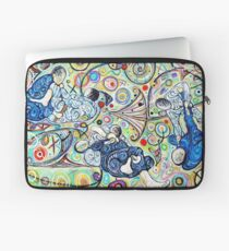 Let's Roll - Jiu-Jitsu - Bjj Art - Painting By Kim Dean Laptop Sleeve
