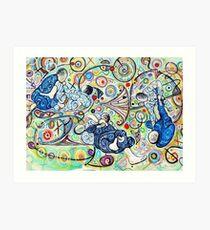Let's Roll - Jiu-Jitsu - Bjj Art - Painting By Kim Dean Art Print