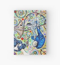 Let's Roll - Jiu-Jitsu - Bjj Art - Painting By Kim Dean Hardcover Journal