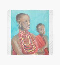 Masaai Mutter und Kind Tuch