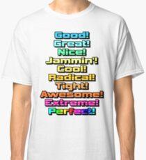 Camiseta clásica Sonic Adventure 2 Flavor Text Version A