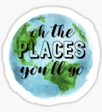 oh, the places you'll go! Sticker
