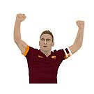 Francesco Totti - Roma Captain by SerieAFFC