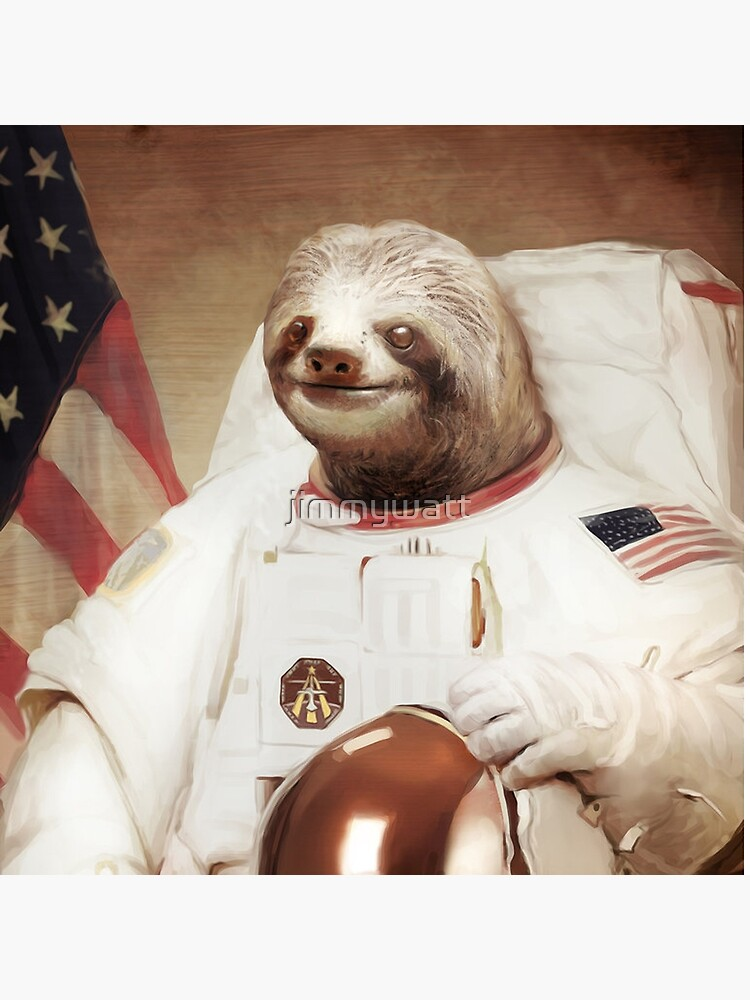 Astronauta Sloth de jimmywatt