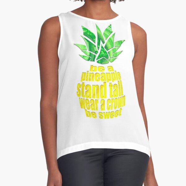 Be A Pineapple Sleeveless Top