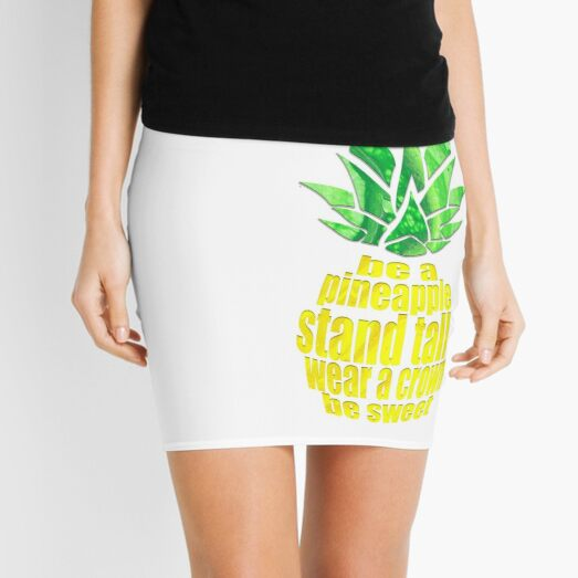 Be A Pineapple Mini Skirt