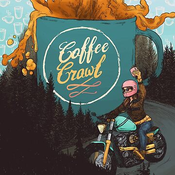 Women Who Ride - Coffee Crawl by blindthistle