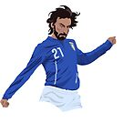 Andrea Pirlo - Italy Legend by SerieAFFC