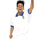 Roberto Baggio - Italy Legend by SerieAFFC