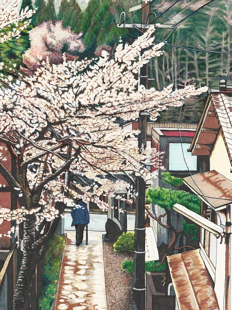 Pasando por Cherry Blossoms de ErinNicholls