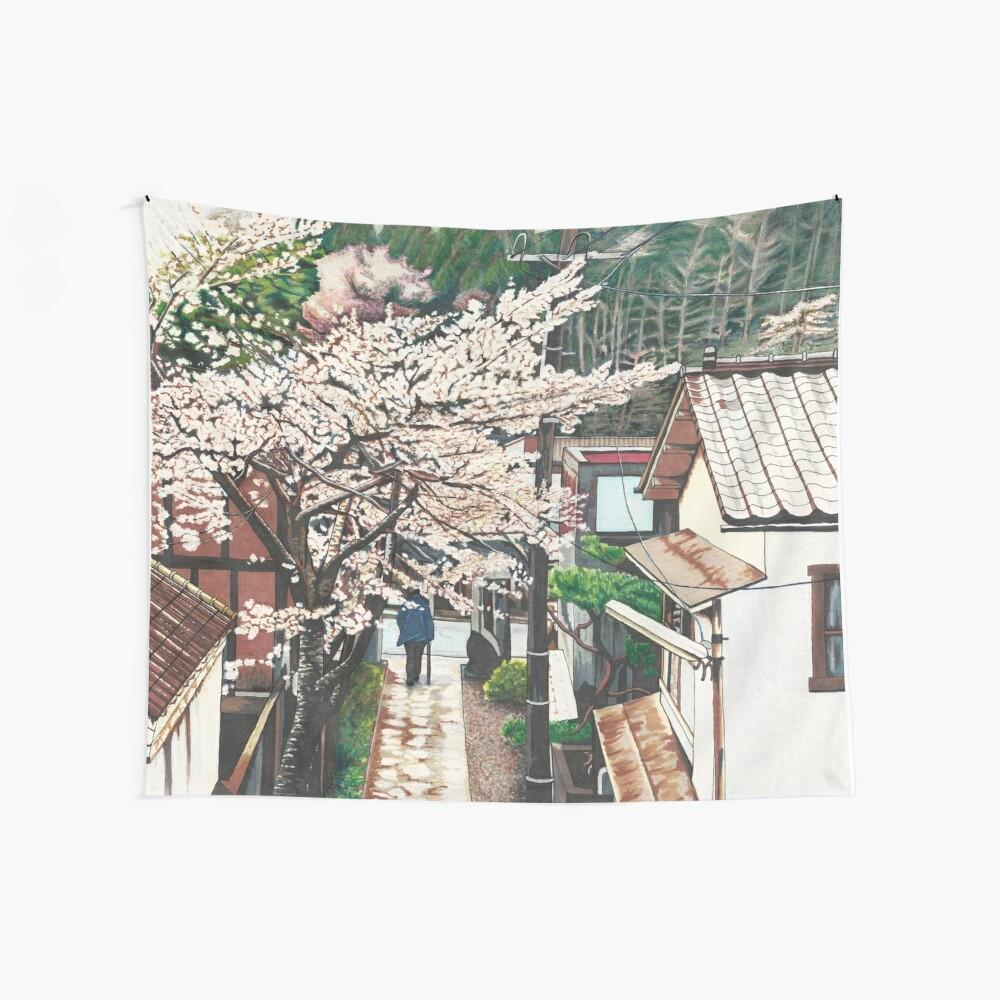 Pasando por Cherry Blossoms Tela decorativa
