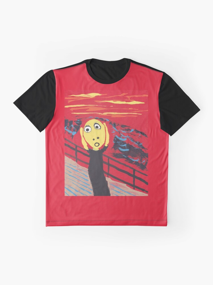 T-shirt graphique ''Le Cri - The Scream' : autre vue