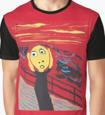 Le Cri - The Scream Graphic T-Shirt