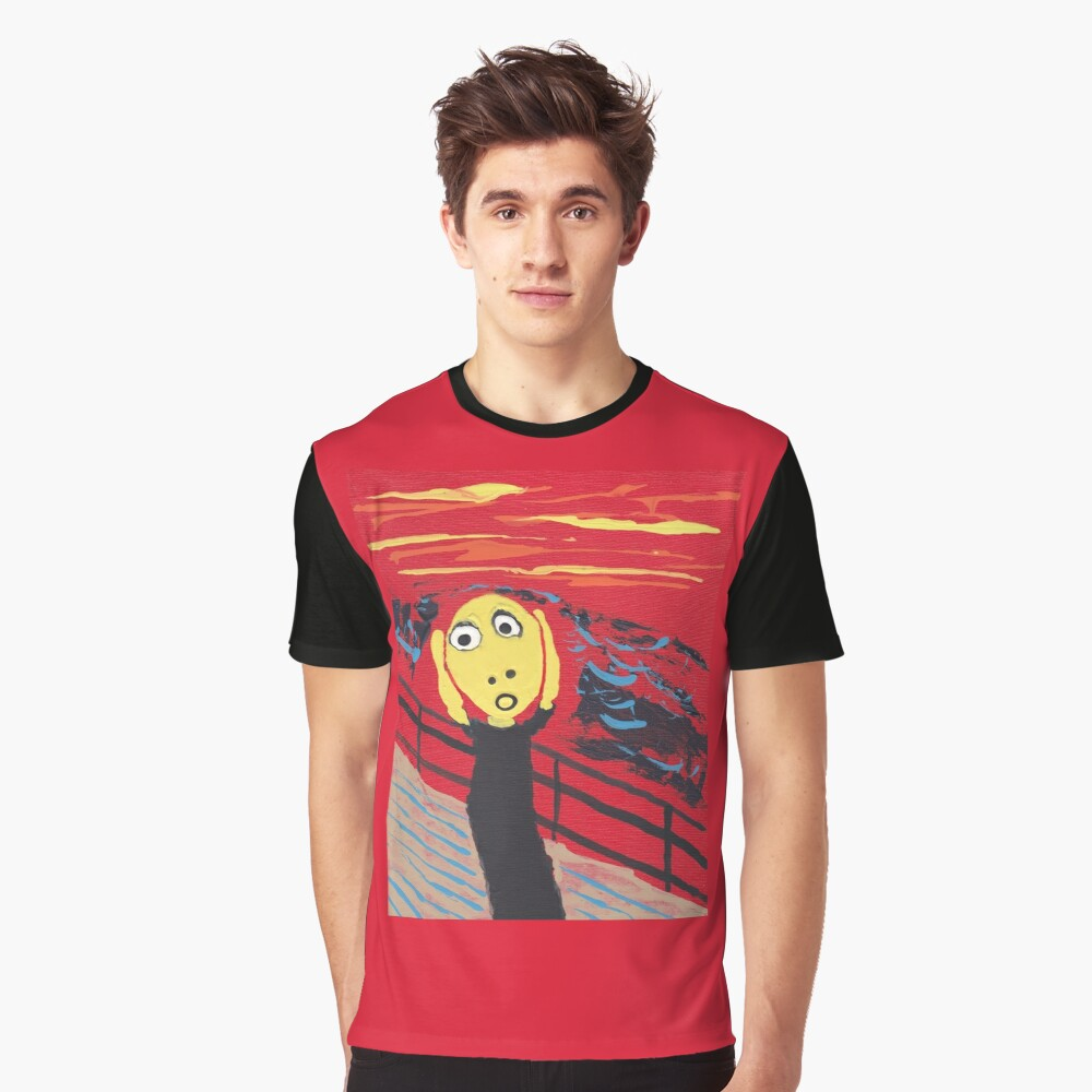 T-shirt graphique « Le Cri - The Scream»