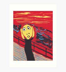 Le Cri - The Scream Art Print