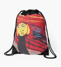 Le Cri - The Scream Drawstring Bag