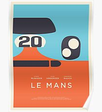 Le Mans Movie Gulf - Grundriss Layout C Poster
