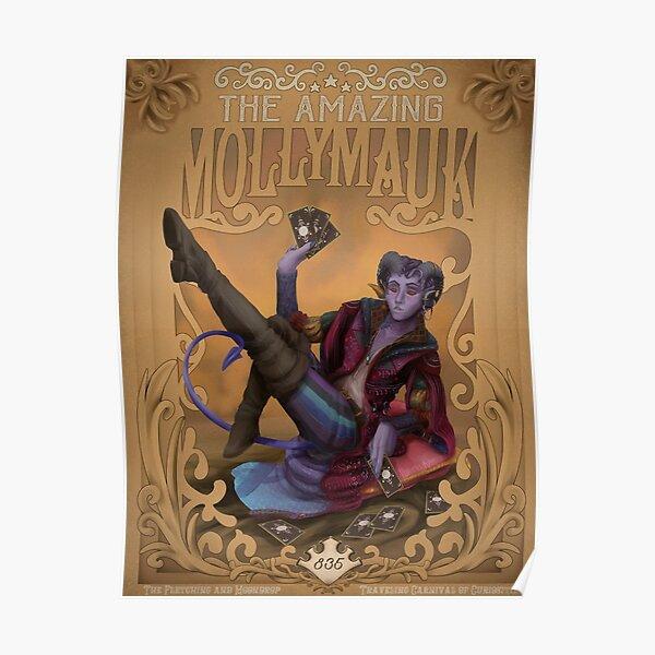 The Amazing Mollymauk  Poster
