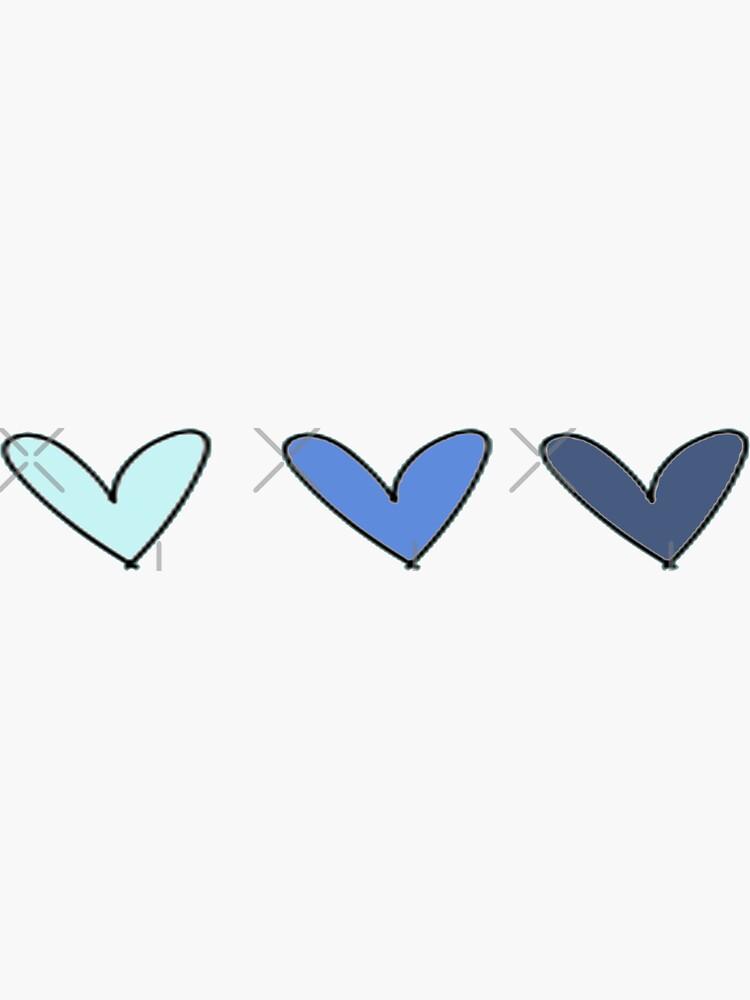 Blue Hearts by haleyerin