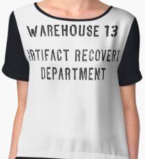 Warehouse Artifact Recovery Department Chiffon Top
