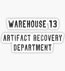 Warehouse Artifact Recovery Department Sticker