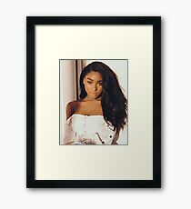 Fifth Harmony // Normani Kordei Framed Print