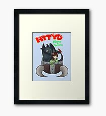 How to Train Your Dragon Framed Print