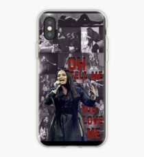 Demi Lovato - Tell Me You Love Me Tour Themed Collage. iPhone Case